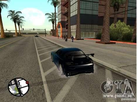 Mazda RX8 für GTA San Andreas Seitenansicht