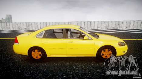 Chevrolet Impala 9C1 2012 für GTA 4 Innenansicht