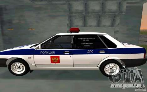 VAZ 21099, Polizei für GTA San Andreas linke Ansicht