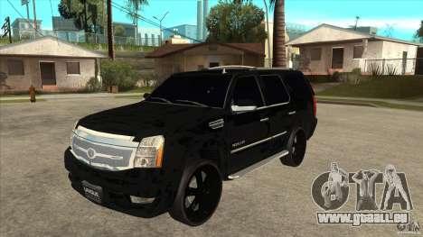 Cadillac Escalade Unique Autosport pour GTA San Andreas