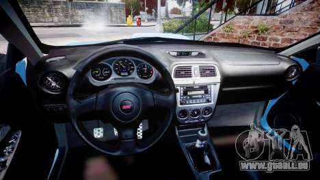Subaru Impreza WRX STI Spec C Type RA-R 2007 für GTA 4 Rückansicht