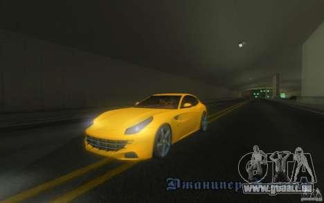 Ferrari FF pour GTA San Andreas vue de côté