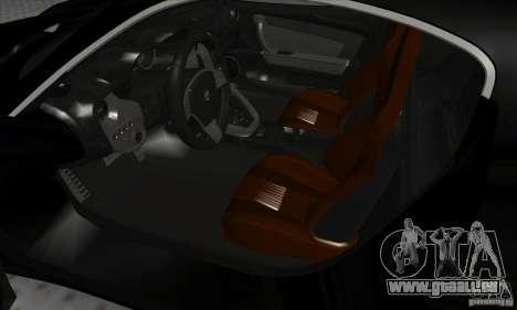 Alfa Romeo 8C Competizione pour GTA San Andreas vue arrière