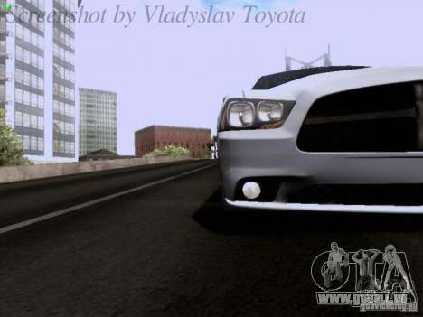 Dodge Charger 2013 pour GTA San Andreas vue de côté