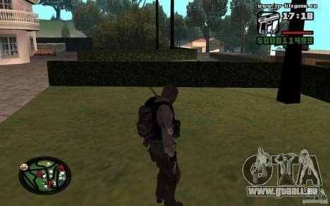Skins nouveau féminin et masculin pour l'armée. pour GTA San Andreas deuxième écran
