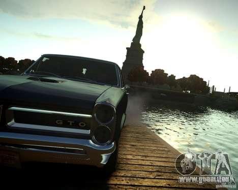 Pontiac GTO DF für GTA 4 Rückansicht