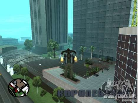 Doherty Plaza-neue Dorothy für GTA San Andreas her Screenshot
