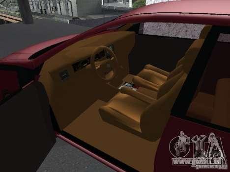 Toyota Corolla Sedan für GTA San Andreas rechten Ansicht