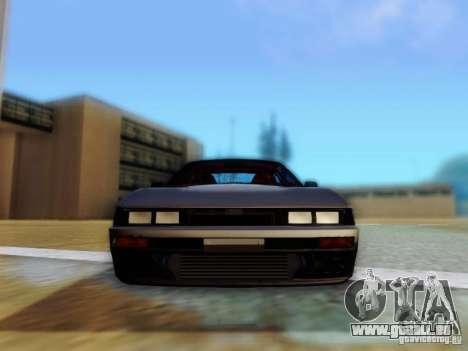 Nissan S13 - Touge pour GTA San Andreas vue arrière
