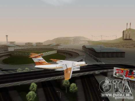 Iljuschin Il-76td für GTA San Andreas linke Ansicht