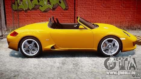 Ruf RK Spyder v0.8Beta für GTA 4 Seitenansicht
