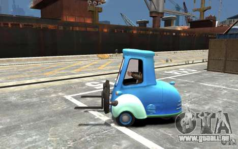 Guido de Cars Mater-National pour GTA 4 est une gauche