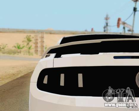 Ford Mustang Boss 302 2013 pour GTA San Andreas vue arrière