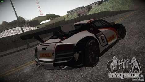 Audi R8 LMS für GTA San Andreas Seitenansicht
