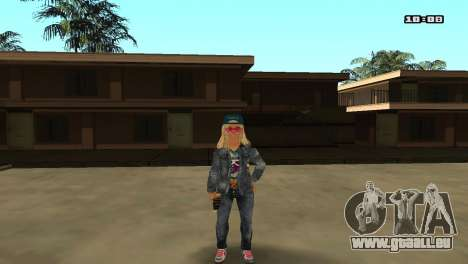 Skin Pack The Rifa für GTA San Andreas zehnten Screenshot