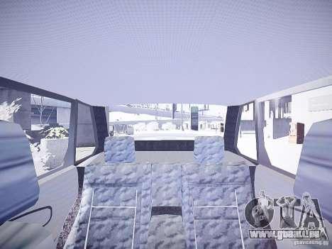 DPS VAZ 2115 pour GTA 4 est une vue de l'intérieur