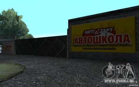 Eine neue Fahrschule in San Fierro für GTA San Andreas zweiten Screenshot