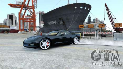 Chevrolet Corvette C6 Convertible v1.0 für GTA 4-Motor