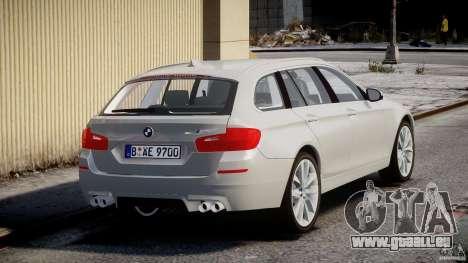 BMW M5 F11 Touring pour GTA 4 est un côté