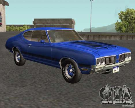 Oldsmobile 442 (fixed version) für GTA San Andreas Rückansicht