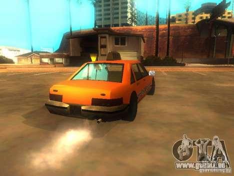Crazy Taxi pour GTA San Andreas sur la vue arrière gauche