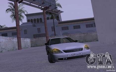 LADA Priora 2170 Pnevmo pour GTA San Andreas vue intérieure