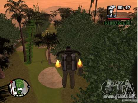 Project Oblivion 2007 pour GTA San Andreas quatrième écran