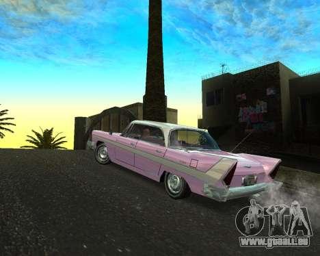 Plymouth Belvedere pour GTA San Andreas laissé vue