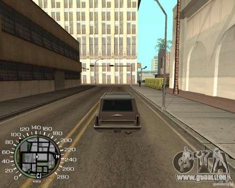 Tachometer für GTA San Andreas dritten Screenshot