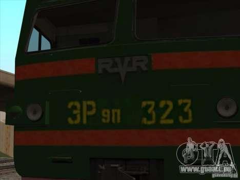 Er9p-323 pour GTA San Andreas vue de droite