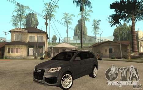 Audi Q7 TDI 2009 pour GTA San Andreas