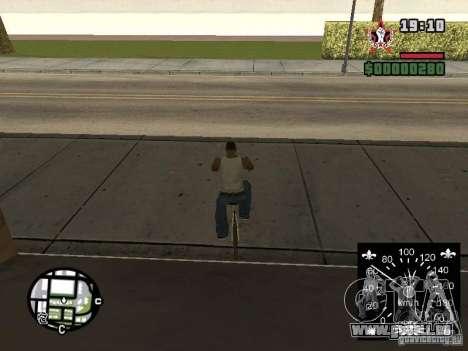 Neue Tacho für GTA San Andreas sechsten Screenshot