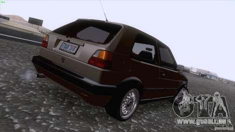Volkswagen Golf Mk2 GTi für GTA San Andreas Seitenansicht