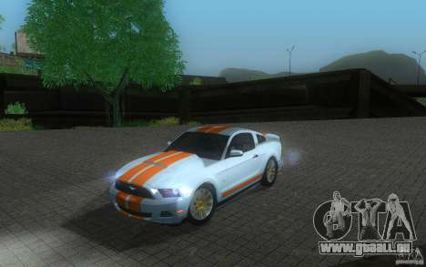 Ford Mustang GT V6 2011 pour GTA San Andreas