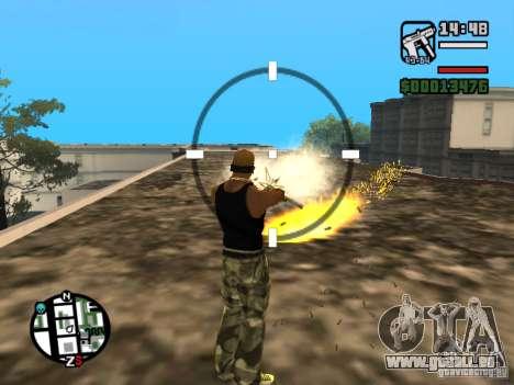 Cadence de tir pour GTA San Andreas