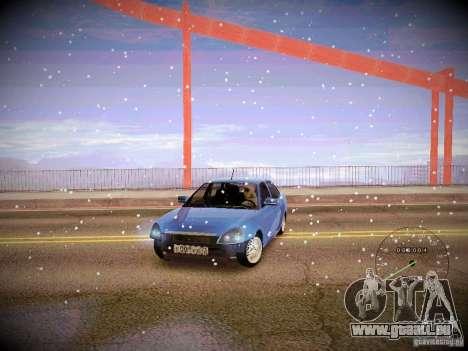 Lada Priora Turbo v2.0 für GTA San Andreas Innenansicht