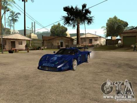 Maserati MC 12 GTrace pour GTA San Andreas