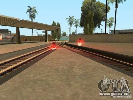 Feux de signalisation ferroviaire pour GTA San Andreas sixième écran