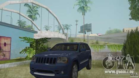 Jeep Grand Cherokee SRT8 2009 pour GTA San Andreas