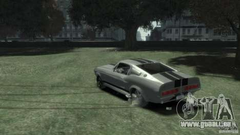 Ford Shelby GT500 Eleanor für GTA 4 linke Ansicht