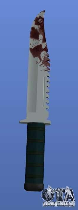 Bloody Knife V1.1 pour GTA 4 troisième écran