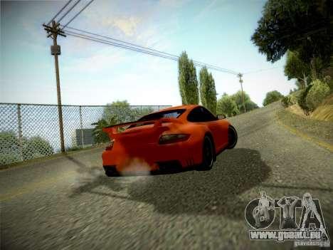 Porsche 997 GT2 pour GTA San Andreas laissé vue
