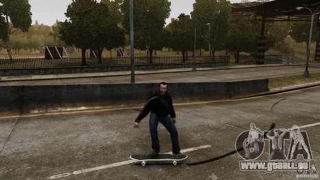 Skateboard # 4 für GTA 4 Rückansicht