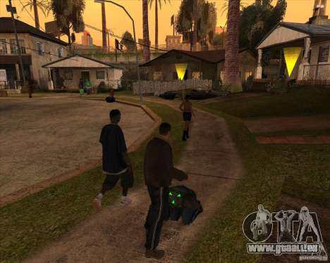 Kick in the balls für GTA San Andreas zweiten Screenshot