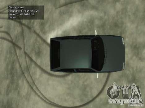 ZAZ Tavria 1102 pour GTA 4 Vue arrière