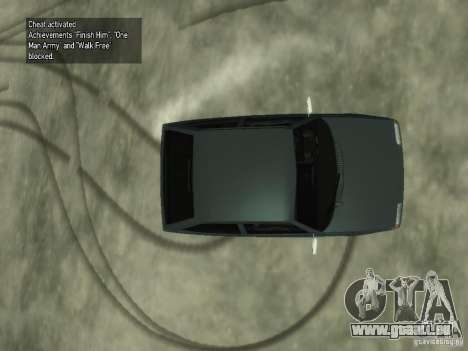 ZAZ 1102 Tavria für GTA 4 Rückansicht