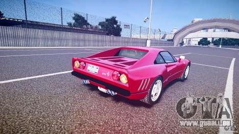 Ferrari 288 GTO pour GTA 4 Vue arrière de la gauche