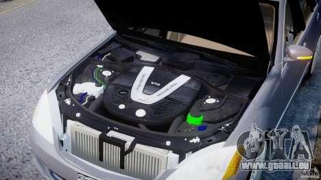 Mercedes-Benz S-Class 2007 pour GTA 4 est un droit