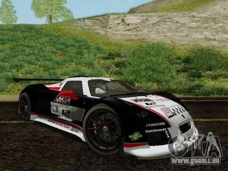 Gumpert Apollo S 2012 pour GTA San Andreas vue de côté
