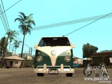 VW T1 Samba pour GTA San Andreas vue de droite